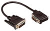 DVI-D Single Link LSZH DVI Cable Male / Male Right Angle, Left, 5.0 ft -- MDA00041-5F -Image