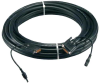 65.6ft Ultra High Performance DVI M/M Cable with Power Connector -- HSDVIP-20M - Image