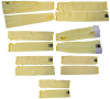Global Glove Yellow 14 in Taeki 5 Cut-Resistant Cape Sleeves Only - ANSI 4 Cut Resistance - TAK14SLT 14IN -- TAK14SLT 14IN