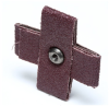 3M 341D Aluminum Oxide Cross Pad 50 Grit - 2 1/2 in Width x 2 1/2 in Length - 1 in Pad Thickness - 65331 -- 076308-65331 - Image