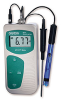 pH/TEMPERATURE METERS - Portable, Acorn™ pH5 and pH6, Oakton®, METER WITH TEMPERATURE PROBE ONLY, pH 5 Meter -- 1152008