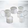 Hinged-Lid Sample Containers, PP, 1/4 oz, 2500/pk -- GO-66098-00