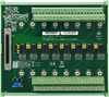 68-pin SCSI DIN-rail Wiring Board with CJC -- PCLD-8810E