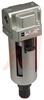 Air Filter; Modular; 150 PSI max; 1/4NPT ports; auto drain (N.O.) -- 70070520