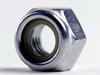 Nylock Nut Steel 8 Zinc DIN985, M3.5X.6 -- M50304 - Image