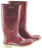 Onguard Superpoly 55338 Brown/Off-White 10 (Women's) Chemical-Resistant Boots - 14 in Height - PVC/Urethane Upper and Steel Toe Cap - 791079-10091 -- 791079-10091 - Image