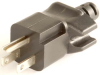 NEMA 5-15P Hospital Grade Plug, with Cord Grip -- UC-018G