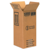 6in x 6in x 12 3/4in 1 1 Gallon Plastic Jug Haz Mat Boxes -- HAZ1050