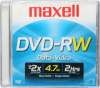 Maxell - DVD-RW Jewel Case