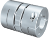 GERWAH™ RING-flex™ Aluminium Clamping Hub Coupling With Standard Spacer -- CCD - Image