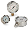 Poly Case Flat Mount Pressure Gauge -- 6094
