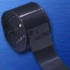Black BradyMark(TM) Marking Foil (PVC Tubing; Black; 0.391