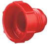PD Series (Threaded Plastic Plugs for Flared JIC Fittings) -- HF 17 (HDPE)