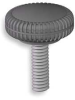 Knurled Knob,1 1/2,1/2 In,1/4-20,1 In -- 3GED8 - Image