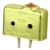 SE Series Environmentally Sealed Basic Switch, Single Pole Normally Closed Circuitry, 5 A at 250 Vac, Pin Plunger Actuator, Leadwire Termination -- 1SE2 - Image