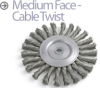 Knotted Wire Wheel Brush -- BTC-4