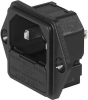 IEC Appliance Inlet C18 with Fuseholder 1-pole