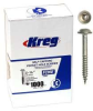 KREG Pocket Screws - 1-1/4 In., #7 Fine, Washer-Head, 1000 -- Model# SML-F125 - 1000