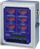 Multi-Point Gas Controller - TA-2000 Six Channel Wall Mount Control System - Image