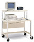 Mobile Computer Cart -- EC15-PB