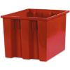 """17"""" x 14 1/2"""" x 12 7/8"""" Red - Stack & Nest Containers -- BINS117 -- View Larger Image"""