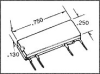SSR, PCB MOUNT, 240VAC, 1.4V, 1A -- 51F1751