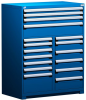"""R Stationary Cabinet (Multi-Drawers), 17 drawers (48""""W x 24""""D x 60""""H) -- R5KHE-5802 -- View Larger Image"""