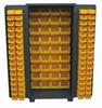 PLASTIC BIN WELDED CABINET - SOLID DOORS -- HDZ236-BL - Image