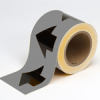 Arrow Tape (Black on Gray; 1