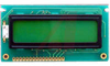 LCD,CHARACTER MODULE,16X2,TRANSFLECTIVE,LED BACKLIGHT,GRAY MODE STN,BOTTOM VIEW -- 70039302