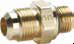 Industrial 45° Flare Fittings -- Flare to Metric Adaptor 48F-X-MIX