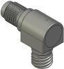 Honeywell Harsh Application Aerospace Proximity Sensor, HAPS Series, Right angle cylindrical threaded form factor, 2,50 mm/3,50 range, 3-wire open collector output normally open, D38999/25YA98PN termi -- 1PRTD3CAN1-000 -Image