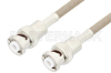 MHV Male to MHV Male Cable 48 Inch Length Using RG141 Coax -- PE34429-48 -Image