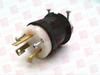 HUBBELL HBL2611 ( PLUG, 30AMP, 125VAC, 2POLE, 3WIRE, NEMA L5-30P )