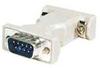DB9 pin plug to plug computer adapter -- DB9P-P