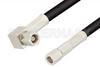 SMC Plug to SMC Plug Right Angle Cable 48 Inch Length Using RG58 Coax -- PE33658-48 -Image