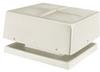 Fiberglass Square Gravity Relief & Intake Ventilator -- MA