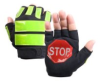 Brite Strike ITG-08XL Traffic Safety Gloves, Black, Extr…