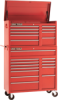 2 Piece Toolbox Set With 22 Drawers -- 92004