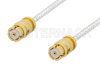 SMP Female to SMP Female Cable 48 Inch Length Using PE-SR047FL Coax -- PE36148-48 -- View Larger Image