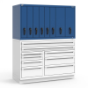 R2V Vertical Drawer Cabinet, 8 Drawers (60