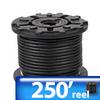 FLEX CORD 250ft 18AWG 2-COND TYPE SJEOOW 300 VOLTS -- SJEOOW-18-2BK250