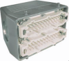 48 Pole with Ground Industrial Rectangular Connector Pre-Assembled Unit with Hood Mount Housing -- 403064M