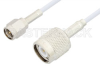 SMA Male to TNC Male Cable 60 Inch Length Using RG188 Coax, RoHS -- PE33361LF-60 -Image