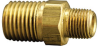 Fisnar 560614 Brass Reducing Nipple 0.25 to 0.125 in NPT Male -- 560614 -Image