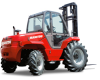 Rough Terrain Vertical Mast Forklift, Manitou -- M Series