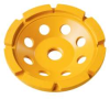 DEWALT 4 In. Double Row Diamond Cup Grinding Wheel -- Model# DW4772 - Image