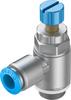 One-way flow control valve -- GRLA-3/8-QS-10-RS-D -Image