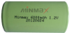 1.2V DC Rechargeable NiMH Batterywith 6,000mAh Capacity, Sized Ø60mm -- NIMH D6000-1 - Image