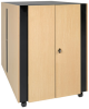 SmartRack Sound Proof Server Rack - Quiet Acoustic Server Rack, 18U -- SRQ18U -- View Larger Image